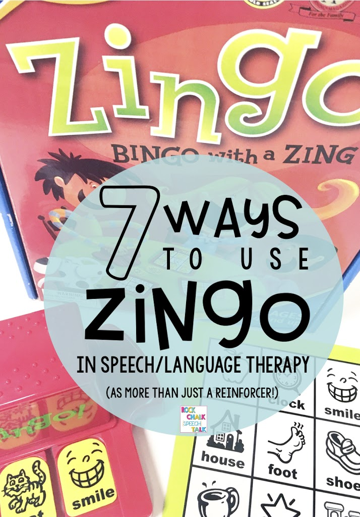 7 ways to use Zingo in therapy as MORE than just a general reinforcer