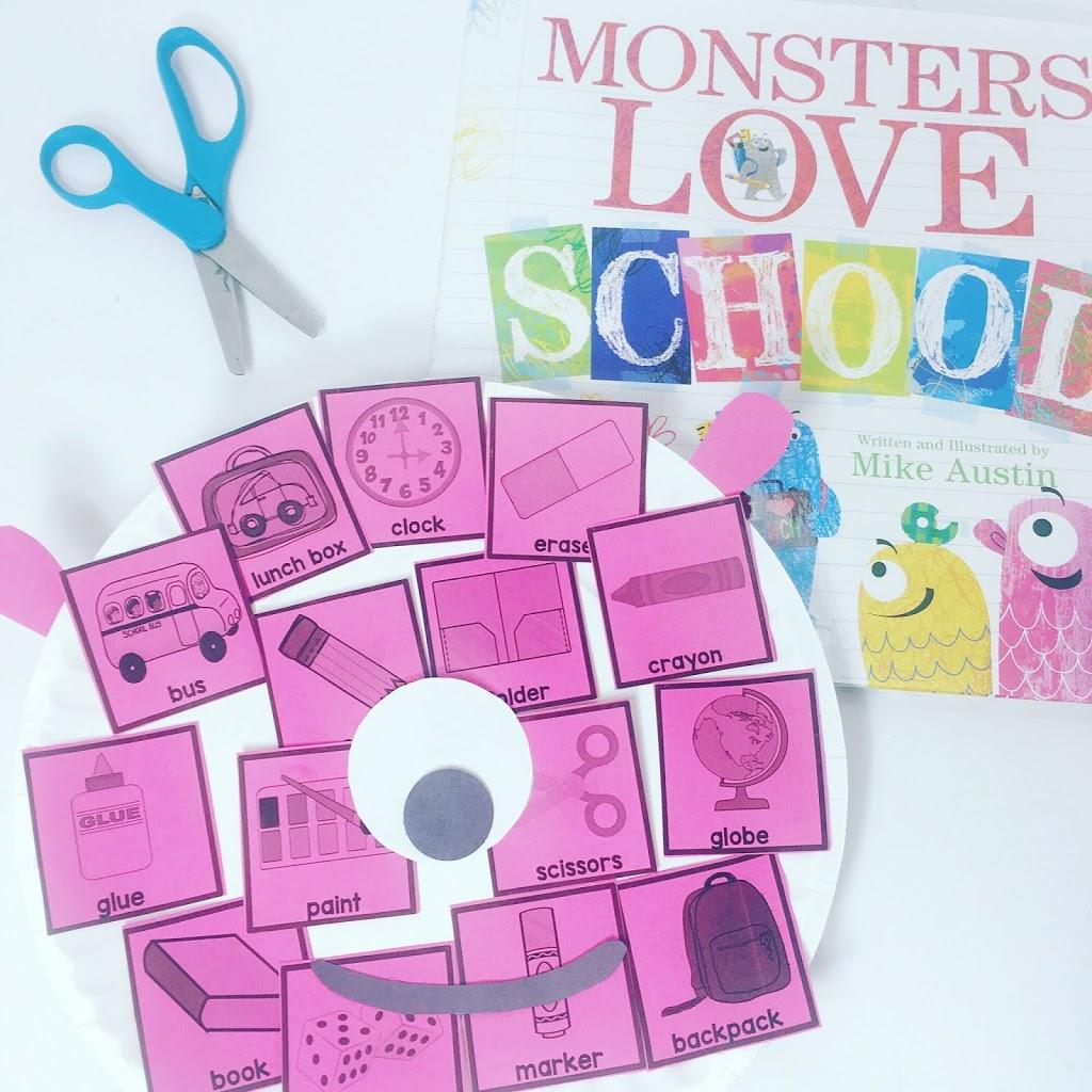 Monsters Love School Activities