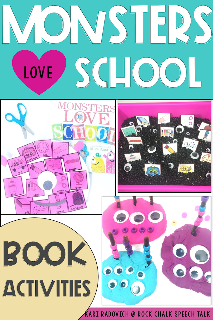 Monsters Love School Halloween Activities