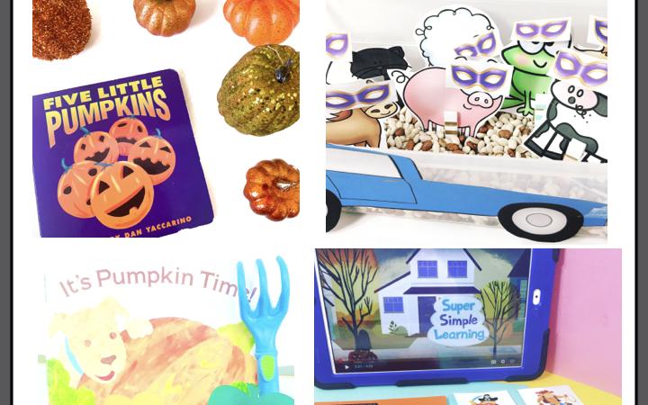 5 Literacy-based Halloween Circle Times