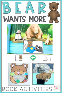 Bear Wants More Speech Therapy Activities