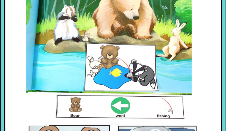 """Bear Wants More"" activities for Speech Therapy"
